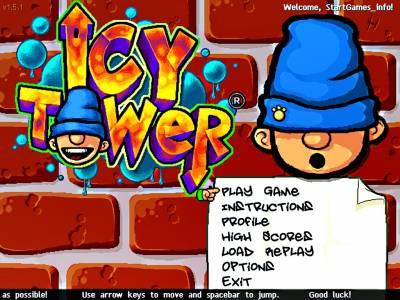 Icy Tower v1.5.1 - 1.3.1 (2012 - Eng) + Портативная версия