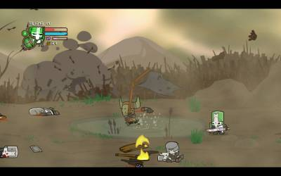 Castle Crashers v1.5 (2012 - Eng) + 3 DLC + Steam Edition