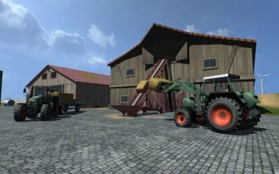 Симулятор фермера 2009 Золотое Издание v1.1 / Farming Simulator 2009 Gold Edition (2010) [Rus]