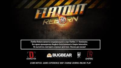 FlatOut 2 Reborn v0.8.0 [Stable, Online] (2015 - Rus / Eng)