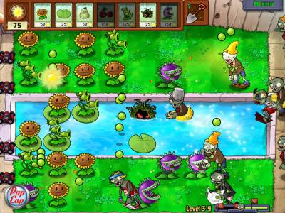 Растения против зомби / Plants vs. Zombies v1.7.0.0 (2010 / Rus - Eng) - Torrent